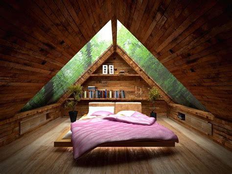 desain gambar lu duduk tips memanfaatkan loteng dengan desain kamar minimalis