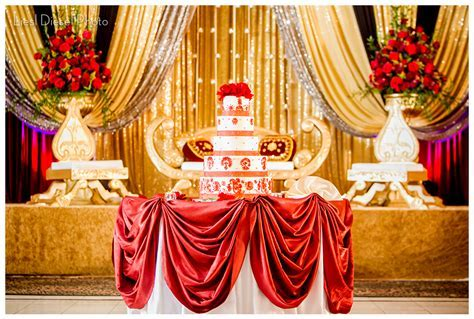 Red and Gold Decor Ideas   Sonal J. Shah Event Consultants