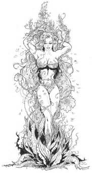 Poison Ivy By TardisTailz700 On DeviantArt sketch template