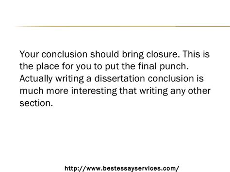 what to include in a dissertation conclusion how to draft a dissertation conclusion