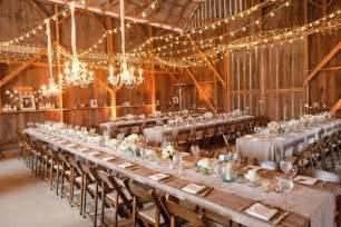 Country Wedding Reception Decorations 10 Barn Wedding Decor Ideas
