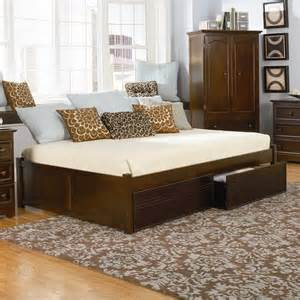 atlantic furniture concord flat panel wood twin daybed antique walnut bed ebay
