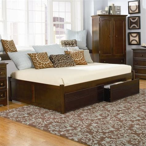 full day beds atlantic furniture concord flat panel wood twin daybed in