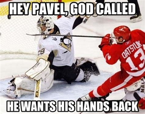 pavel datsyuk meme red wings go blue tigers too