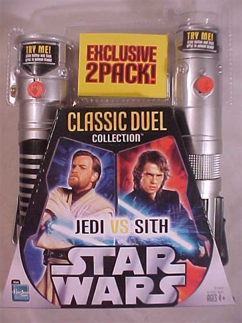 Kaos Classic Lightsaber Wars classic duels basic lightsaber 2 pack obi wan anakin wars collectors archive