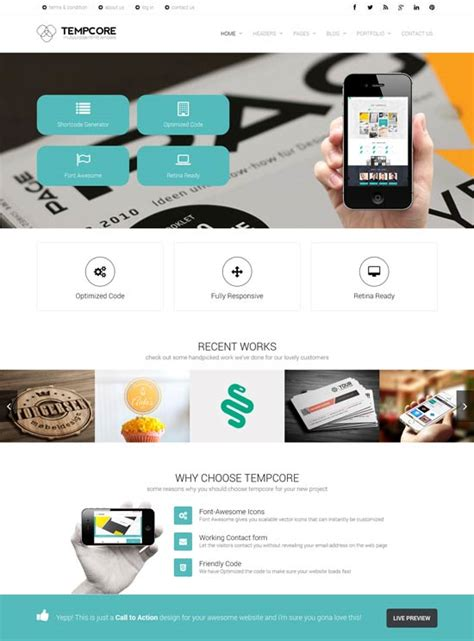 premium business website templates 35 free premium business website templates