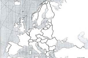 World War 2 Blank Map by Blank Map Of World War I