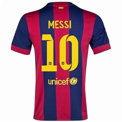 Jersey Sepakbola Barcelona L 10 Messi lionel messi 10 barcelona 15 16 home jersey fcb messi home and barcelona jerseys