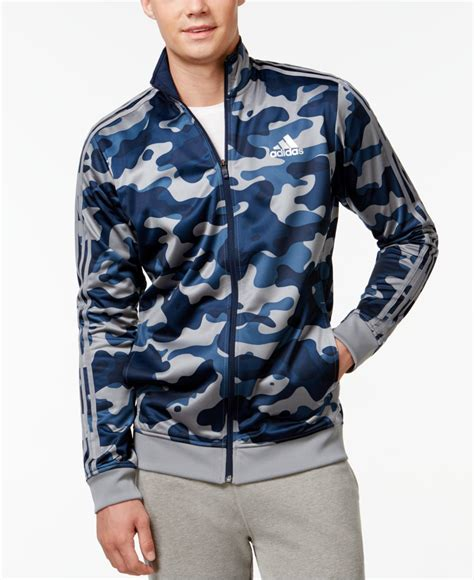 Jaket Adidas Navy Pink By Snf2012 lyst adidas originals s camo print track jacket in