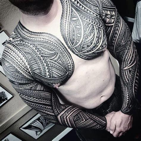 tattoo chest polynesian 50 polynesian chest tattoo designs for men tattoos for