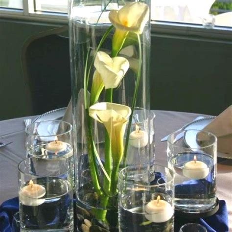 150 Best Calla Lily Wedding Images On Pinterest Floral Calla Lilies Centerpieces
