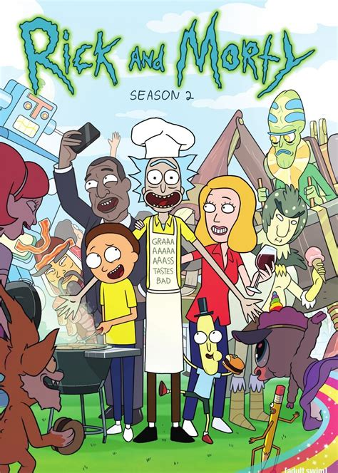 rick and morty rick and morty dvd release date
