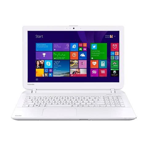 toshiba satellite l50 b 2ec 15 6 inch white laptop 4th intel i3 4005u 1 70 ghz 8gb