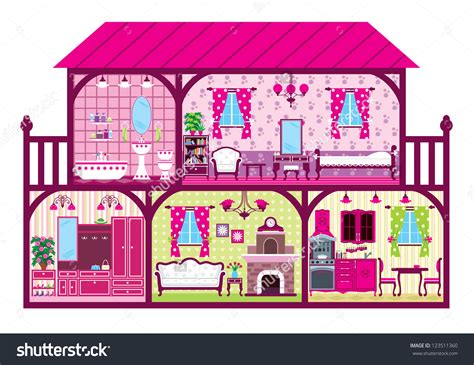 doll house clipart doll house furniture clipart clipground