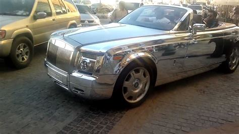 rolls royce chrome chrome plated rolls royce in jbr