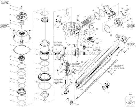 porter cable frb parts list  diagram type