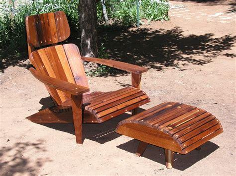 Modern Adirondack Chairs by Mid Century Modern Adirondack Chair Reclaimed Redwood