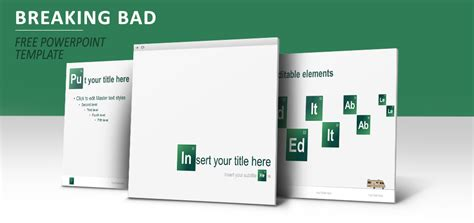 Breaking Bad Powerpoint Template Show Powerpoint Template