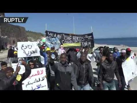 lesbos refugees march against persecution, eu turkey