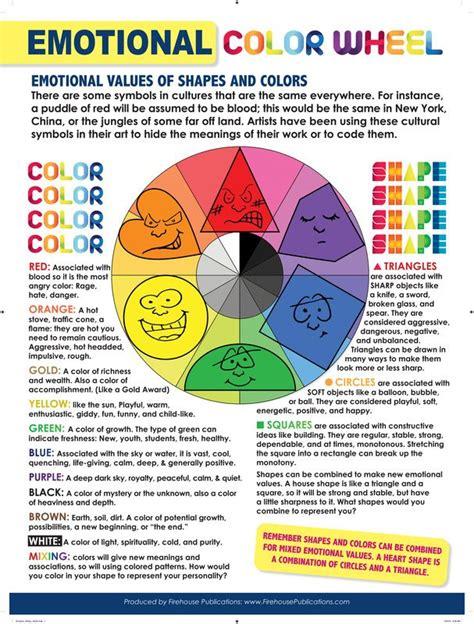 emotion colors emotional color wheel work color wheels