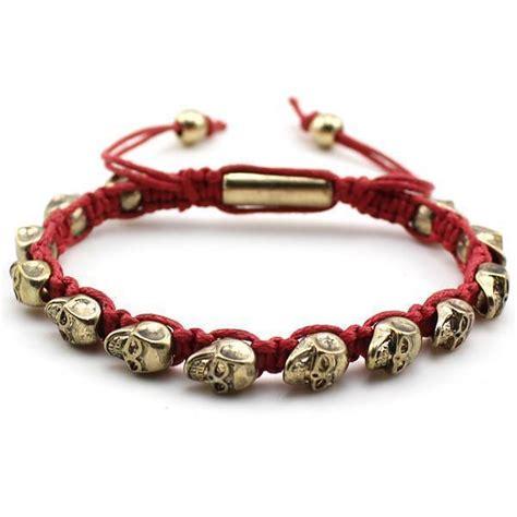 gold shamballa gold skulls shamballa bracelets ring to perfection
