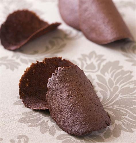 Recette Tuile Au Chocolat by Tuiles Au Chocolat Les Meilleures Recettes De Cuisine D