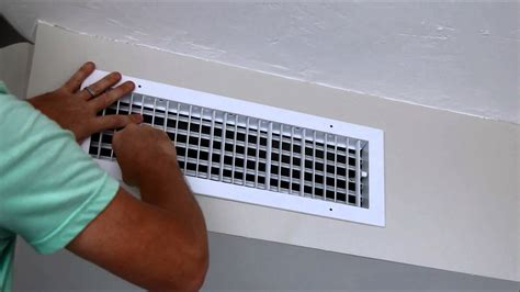 air conditioner registers ceiling how to add an air duct