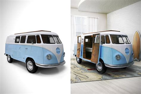 vw bus bed volkswagen bun bed might be coolest ever modeled after classic vw bus techeblog