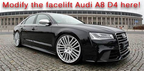 hofele design rs4 body kit styling for audi a4 8h | autos post