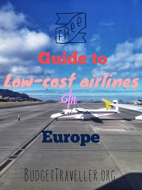 ultimate guide   cost airlines  europe