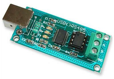 usb to rs485 ftdi interface converter pcb