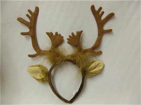 rudolph ears reindeer antlers and ears rudolph sven frozen