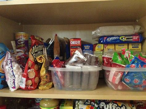 Pantry Snacks by Organized Home Pantry Andreabcreative