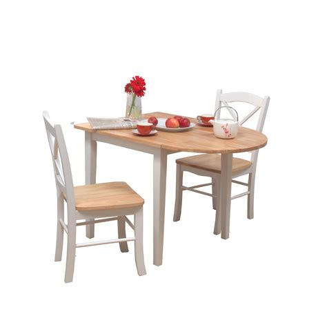 small white kitchen table and 2 chairs 13860