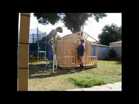 how to house how to build a cubby house in two hours