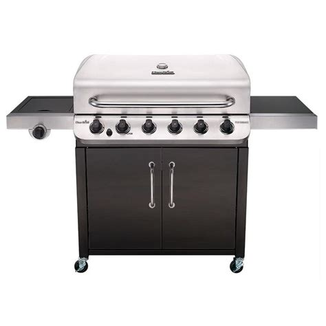 char broil grill light shop char broil performance black and stainless steel 6