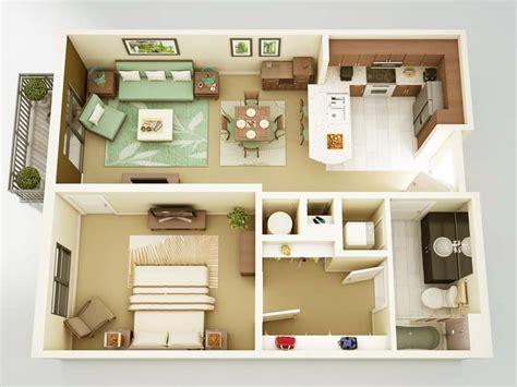 design interior rumah hello kitty contoh desain denah rumah minimalis 1 kamar tidur terbaik