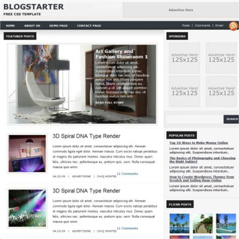 Blog Starter Template Free Website Templates In Css Html Js Format For Free Download 201 25kb Website Starter Template