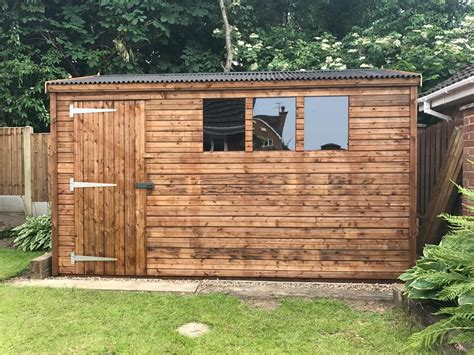 Garden Sheds 12x8 by Photos Of Our Customers Sheds Installed In Their Gardens