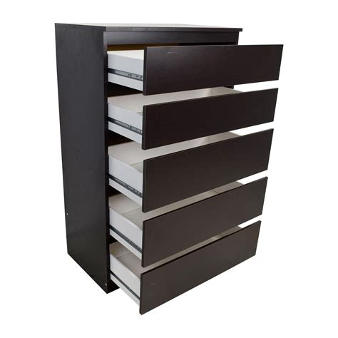 Shelf Dresser by 43 Kullen 5 Drawer Dresser Storage