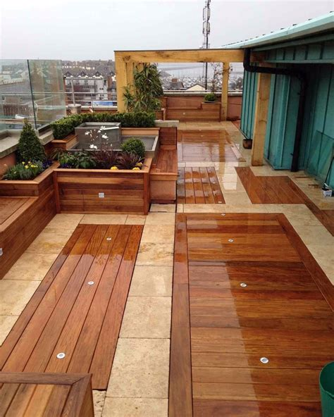 Options For Patio Flooring by Outdoor Flooring Ideas