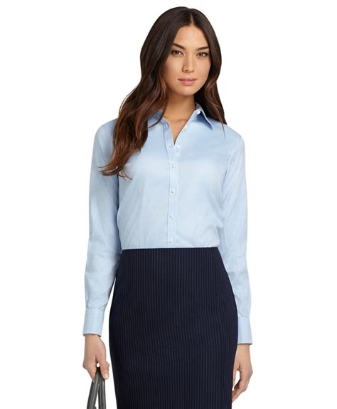 womens dress shirts women s petite non iron fitted french cuff dress shirt