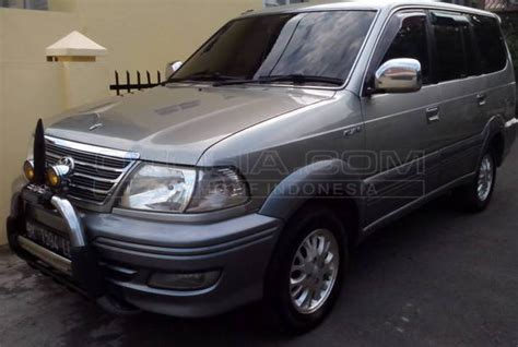Lu Sen Depan Kijang Thn 2003 mobil kapanlagi dijual mobil bekas medan toyota kijang 2003