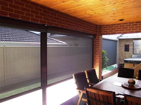 Porch Blinds by Blinds Outdoor Porch Blinds Shades For Patio Roller