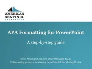 apa powerpoint template references in apa format for powerpoint essay about