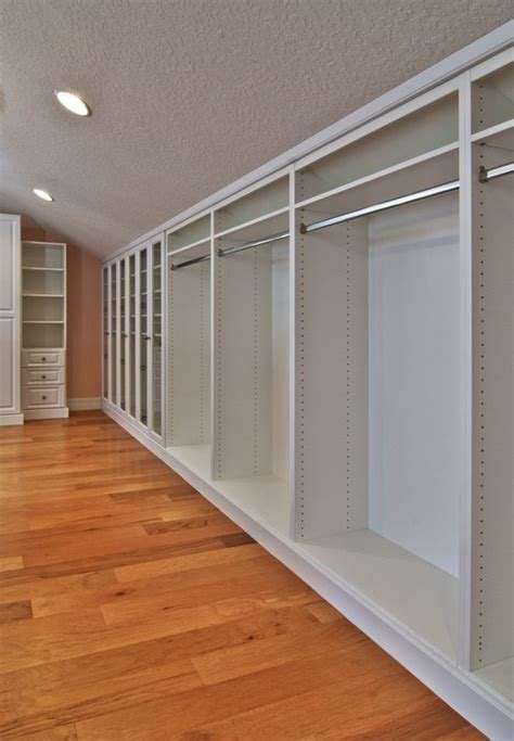How To Remodel Closet by Master Closet White Inside Finished Attic With Angled
