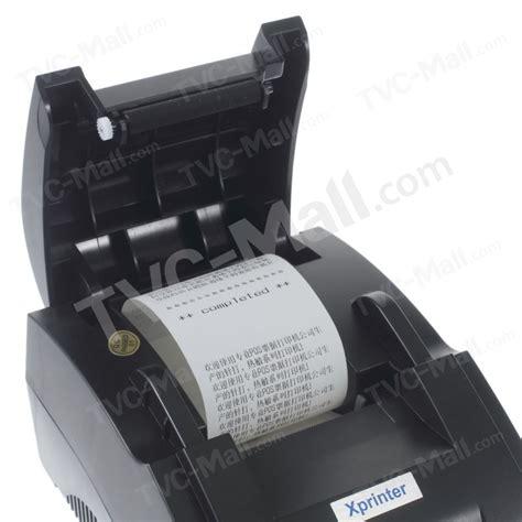 Mg Pos Thermal Receipt Printer 58mm Xprinter Xp 58iiik Murah xprinter xp 58iih 58mm usb thermal pos receipt printer printing machine eu tvc mall