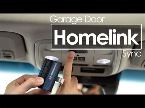 Syncing Garage Door Remote How To Program Troubleshoot Homelink Programming Gara Doovi