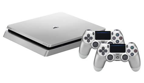 Dualshock 4 Silver sony playstation 4 500gb slim silver dualshock 4 silver 9848769 consoles