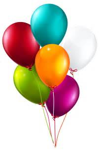 Colorful balloons bunch large png clipart image gallery
